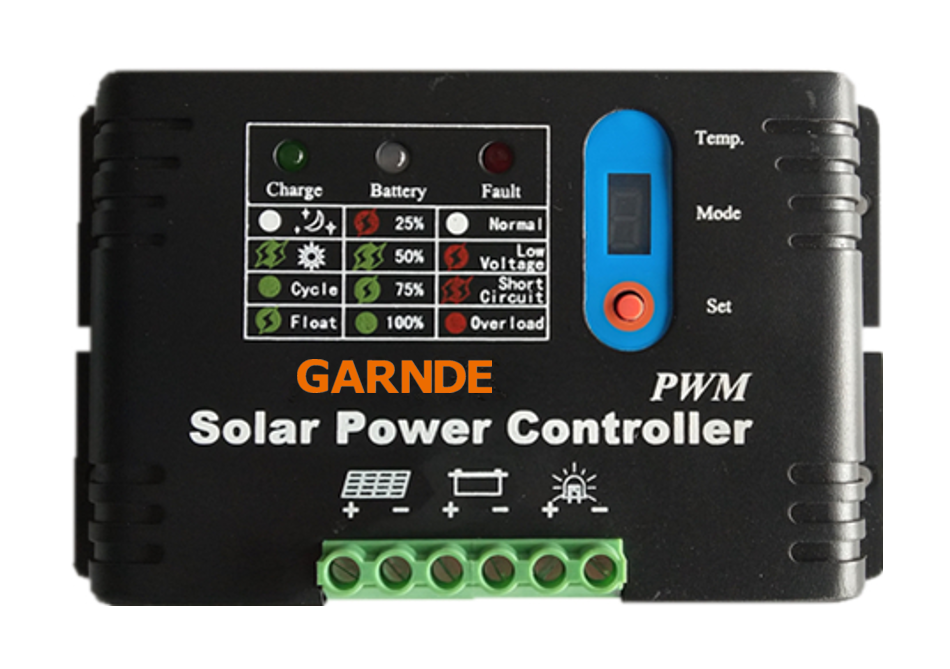SS series PWM Solar Charge Controller