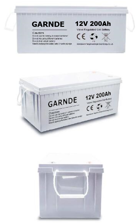 Gel-VRLA Battery 12V 200Ah